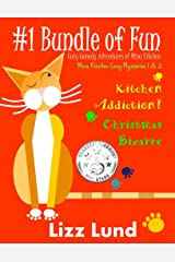 #1 Bundle of Fun - Humorous Cozy Mysteries - Funny Adventures of Mina Kitchen - with Recipes: Kitchen Addiction! + Christmas Bizarre - Books 1 + 2 (Mina Kitchen Cozy Mystery Series - Bundle 1) Kindle Edition