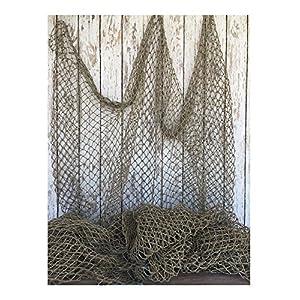 61nLoU9oblL._SS300_ Nautical Fish Net Decor