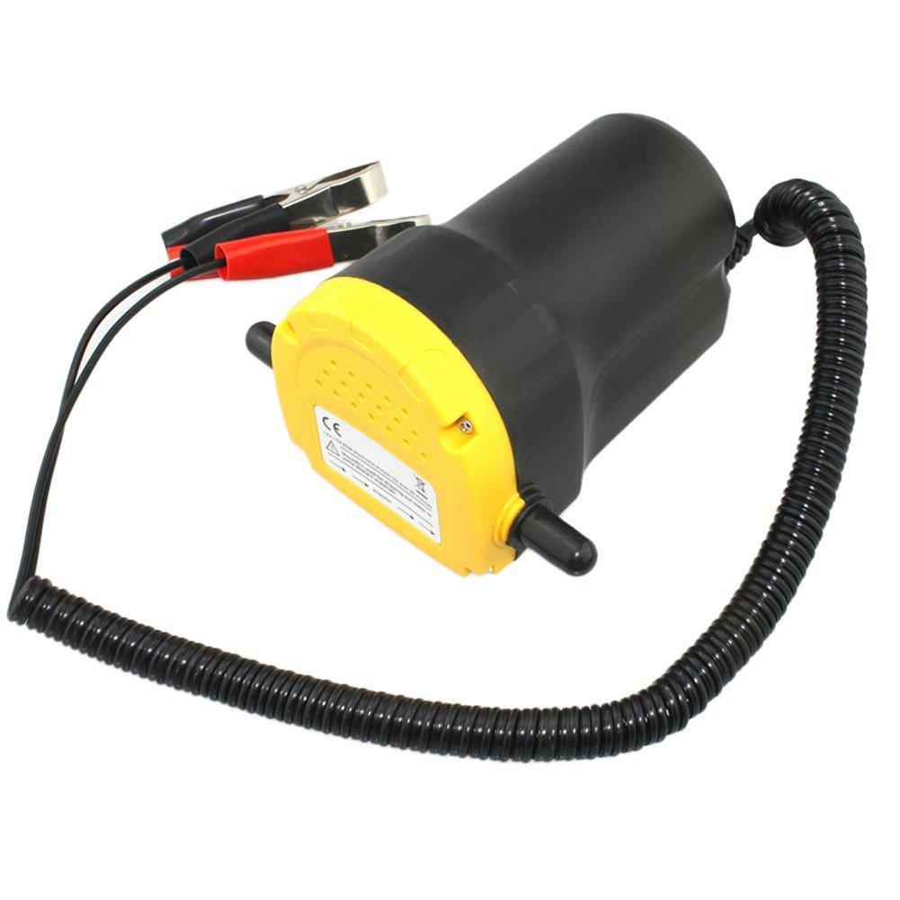 Domybest - Extractor de aceite y diésel, 12 V, bomba de cambio para coche, barco, motocicleta: Amazon.es: Coche y moto