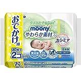 ムーニー おしりふき やわらか素材 純水99% 外出用 60枚(30枚×2)