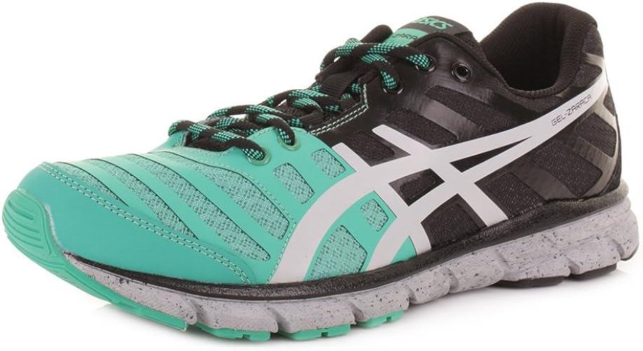 Último Comprometido Juventud  ASICS Gel Zaraca 2 Mint Grey Black Running Shoes Size 6: Amazon.co.uk:  Shoes & Bags