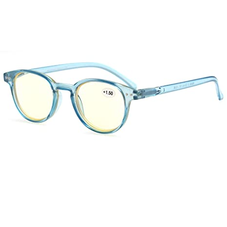 MODFANS Gafas de Lectura 1.5 Anti luz Azul/Gafas de Ordenador para ...