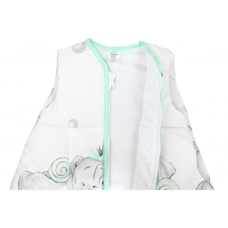 62-74 Gr/ö/ße Farbe Imagine Rosa TupTam Baby Unisex Schlafsack /Ärmellos Wattiert