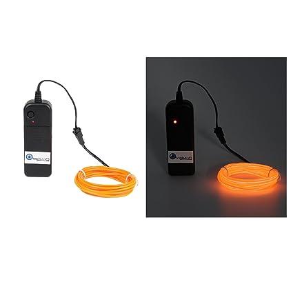 Amazon.com : Oweisong Ultra Brightness 3M 9ft 3V EL Wire Rope Lights ...