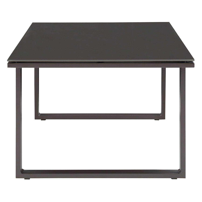 Good Square Outdoor Coffee Table Part - 12: Amazon.com : Modway EEI-1516-BRN-SET Fortuna Brown Outdoor Patio Coffee  Table : Patio, Lawn U0026 Garden