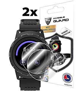 IPG for 3PLUS Cruz Hybrid Smartwatch Screen Protector 2 Units Invisible Ultra HD Clear Film Anti