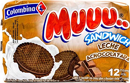 Amazon.com : Colombina Muuu Sandwich Choco-Fresa, 10.6 Ounce (Pack of 24) : Grocery & Gourmet Food