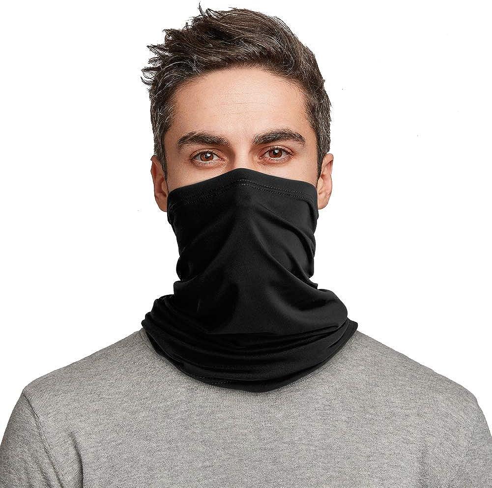 Mens Womens Bandana Head Face Neck Gaiter Snood Headwear Beanie Tube Scarf