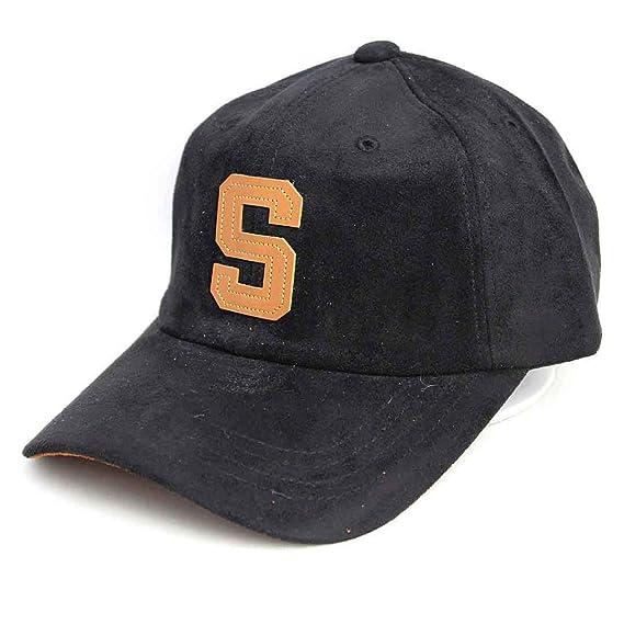 6bc5624dbd74 Amazon   キャップ エンブレム CAP 帽子 ストリート アメカジ ブラック ...