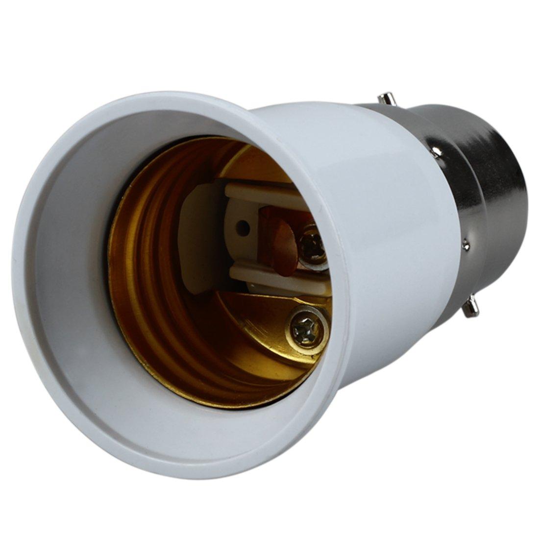 lampholder adapter - TOOGOO(R)Adapter Light Bulb E27 to B22 white
