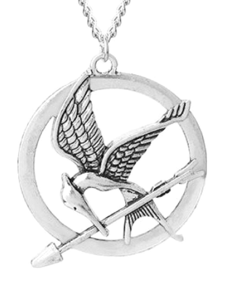 Inception Pro Infinite Collane Mockingjay Ghiandaia Imitatrice - Film Hunger Games - Cosplay film e TV - Idea regalo - Donna e Ragazza 8015242209632