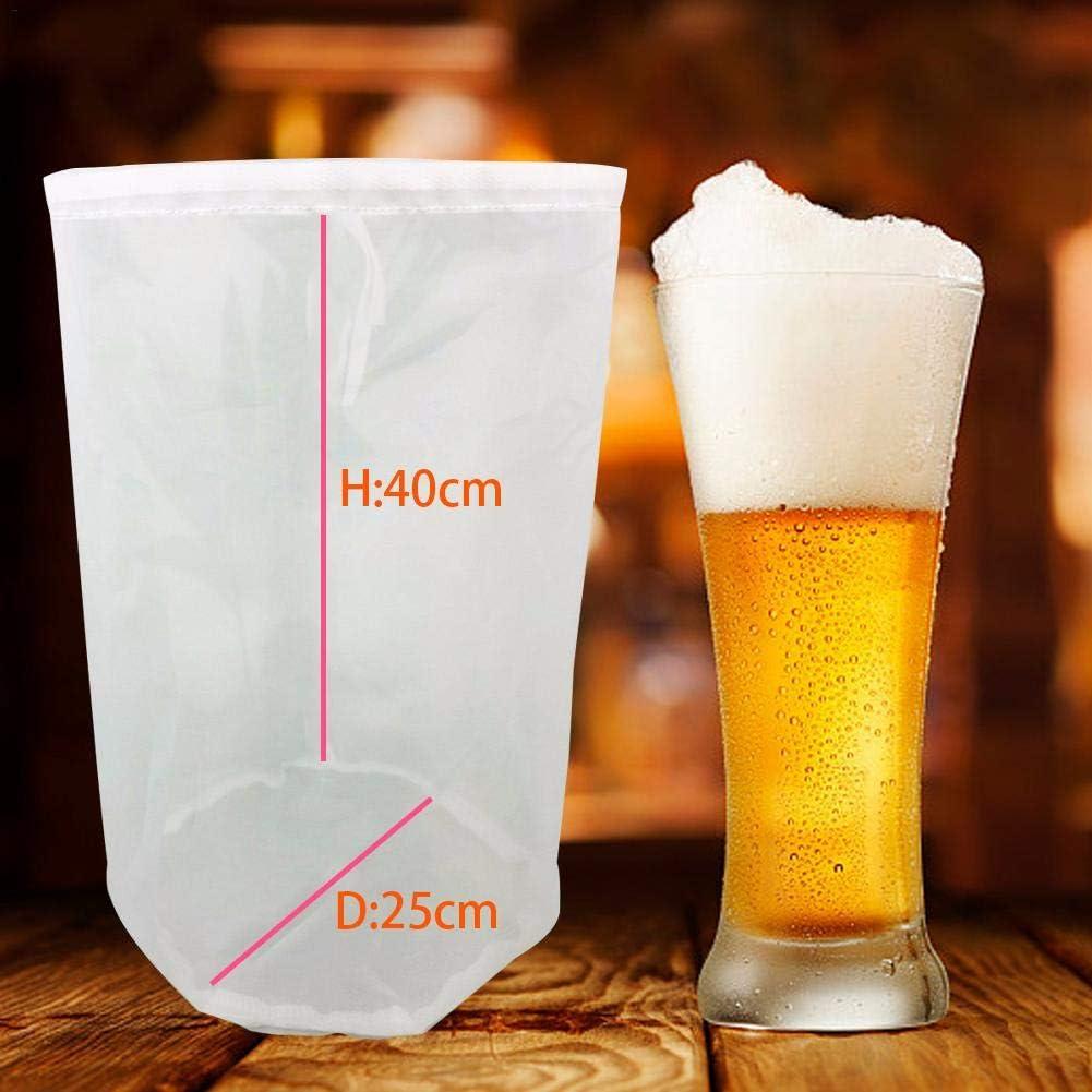 Wein Bier Zum Selbstbrauen flower205 8 Gr/ö/ßen Nussmilchbeutel,Nussmilchbeutel Nylon-Siebbeutel Feinmaschiger Lebensmittelfilterbeutel Kaltes Gebr/äu Mehrzweckfilterbeutel F/ür Nussmilch Saft