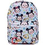 Disney Tsum Tsum School Backpack 16in All Over