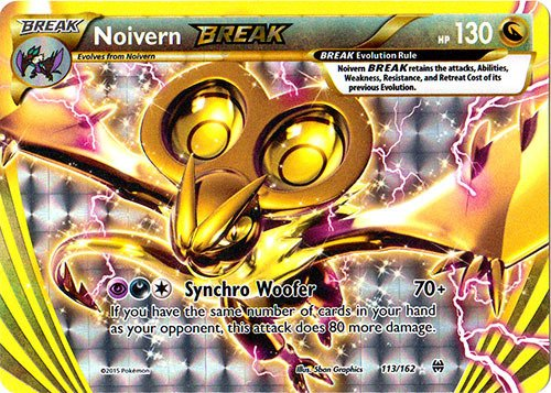 Pokemon - Noivern-BREAK (113/162) - XY -