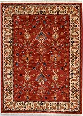 English Manor William Morris Red Oriental Rug