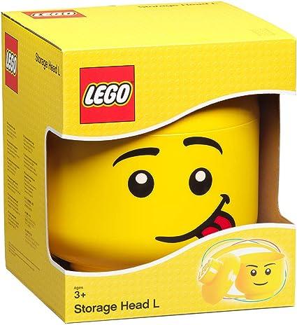 Lego Storage Head Girl Brick Container Small
