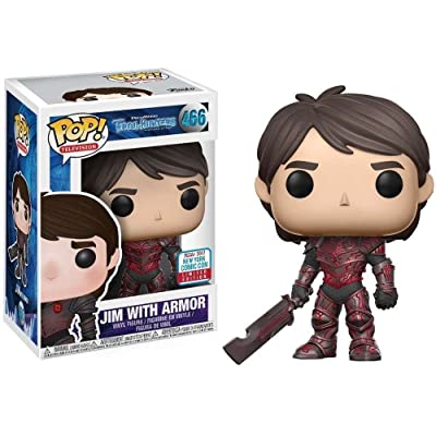 Funko Pop! Jim with Armor New York Comic Con Exclusive: Toys & Games