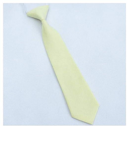 MY JINJI Necktie [Corbata para niños] Fácil Desmontable Unisex 15 ...