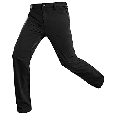 Hiauspor Mens Hiking Pants Outdoor Lightweight Quick Dry Pant for Travel Camping Fishing