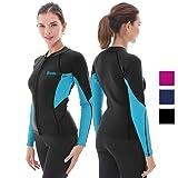 Goldfin Women's Wetsuit Top, 2mm Neoprene Wetsuit