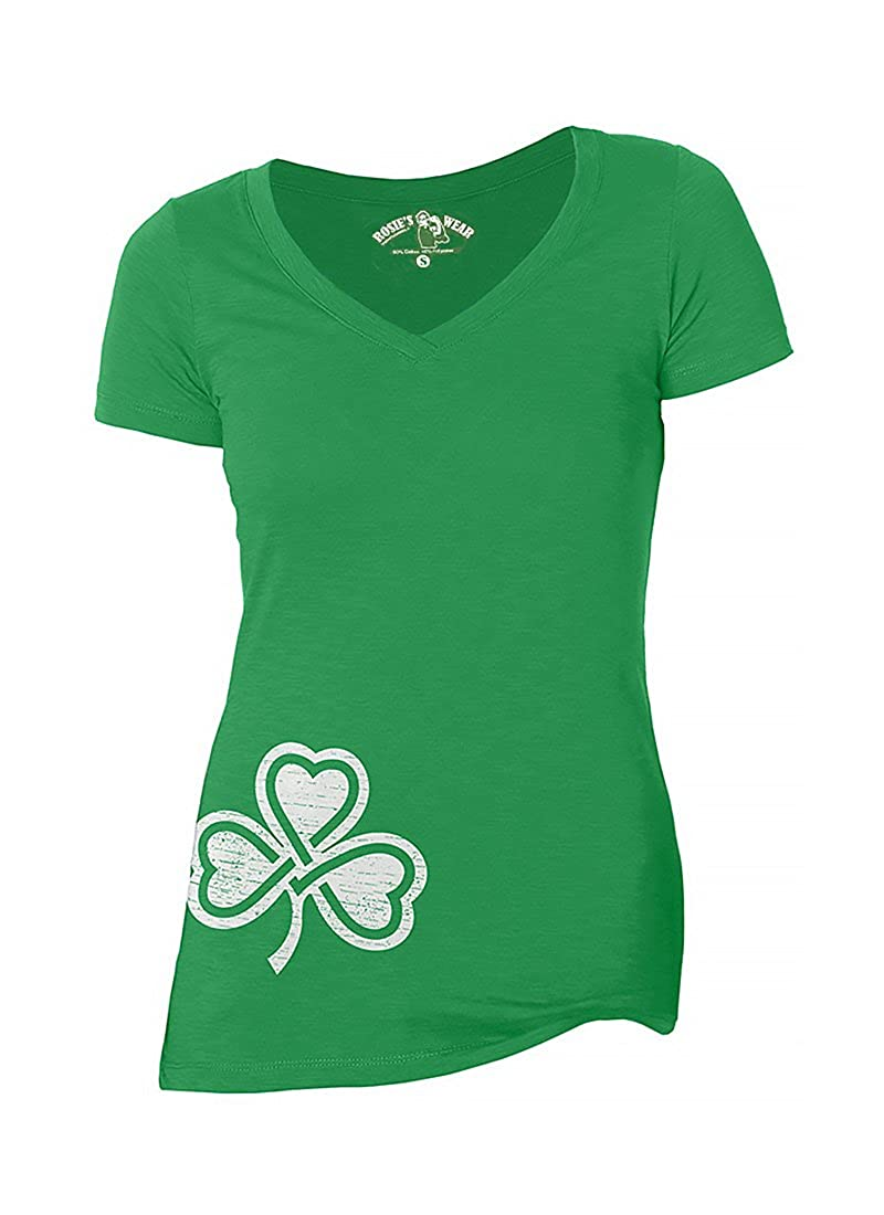 b178e8d27c6ac Top10: St. Patrick\'s Day Irish Shirt Womens Cute Shamrock Clover V-Neck  Irish T-Shirt