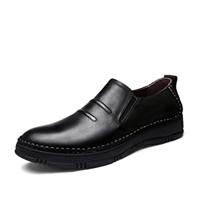 3a71013657a New 2017 Men s Casual Shoes Genuine Leather Men Loafers Lightweight Leather  Moccasins Smart Mens Shoes