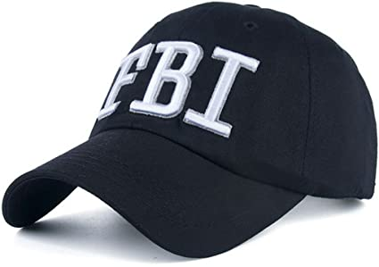 54b835525 AKIZON FBI Hat Women Official - FBI Hats for Men - FBI Agent Hat - FBI