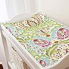 Carousel Designs Kumari Garden Teja Changing Pad Cover