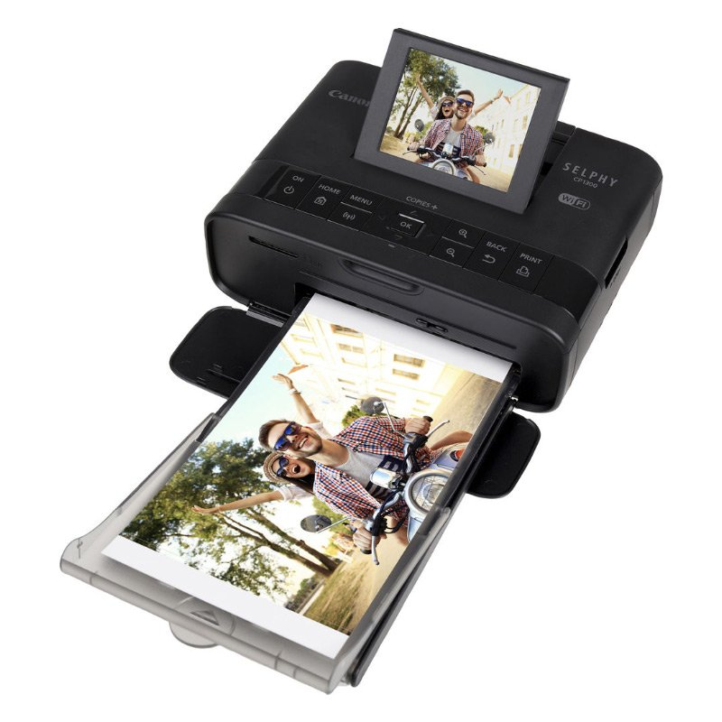 Canon SELPHY CP1300 Wireless Compact Photo Printer with AirPrint and Mopria Device Printing, Black (2234C001) by Canon (Image #3)