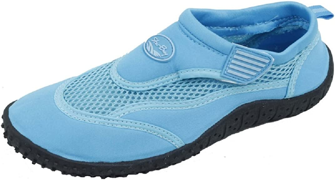 Slip-On Water Shoes with Velcro Strap
