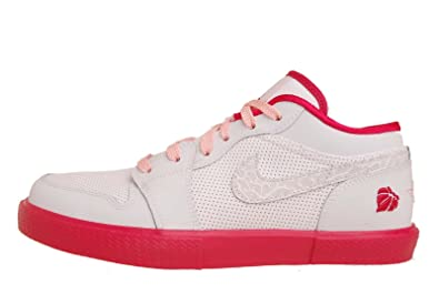 huge discount e0f19 aee75 Image Unavailable. Image not available for. Color  Nike Girls Air Jordan  Retro V.1 GS White ...
