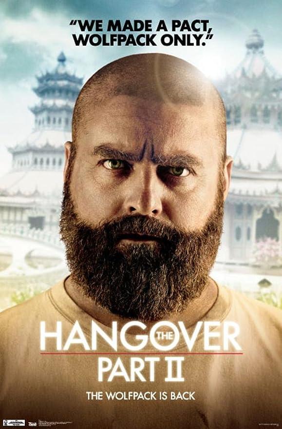 Amazon Com The Hangover Part Ii Movie Alan Zach Galifianakis Poster Print 22x34 Poster Print 22x34 Posters Prints