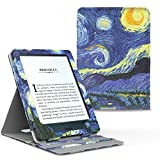 MoKo Case for Kindle Paperwhite, Premium Vertical Flip Cover with Auto Wake / Sleep for Amazon All-New Kindle Paperwhite (Fits All 2012, 2013, 2015 and 2016 Versions), Starry Night