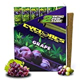 grape flavored cigarettes - Cyclones Grape Pre-Rolled Flavored Hemp Wraps (12 Packs, 2 Wraps Per Pack) Total 24 Wraps and ES Scoop Card