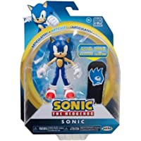"""Sonic The Hedgehog 4"""" Sonic Action Figure with Snowboard Accessory"""