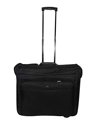 Amazon.com   Garment bag on Wheel, garment Travel bag suitcase with ... 5e72182823