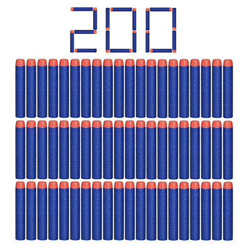 Camkey 200pcs Foam Darts, 2.84