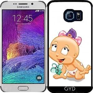 Funda para Samsung Galaxy S6 EDGE (SM-G925) - Bebé Hr Con Juguetes 2 by Cadellin