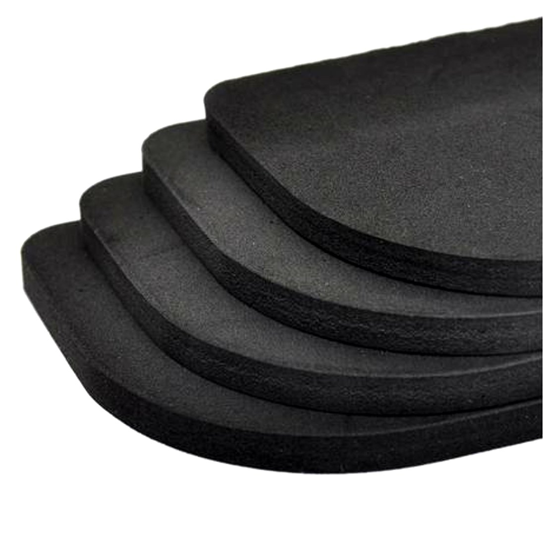Noise Protection Anti Vibration Pads Steamer Mats for Washing Machine, Fridge, Furniture and More Set of 4 HS86®