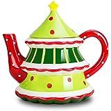 Christmas Tree Teapot