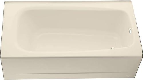 American Standard 2460002.021 Cambridge Apron-Front Americast Soaking Bathtub Left Hand Drain