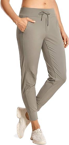ouxiuli Men Elasticity Pants Drawstring Linen Plus Size Loose Baggy Harem Trousers