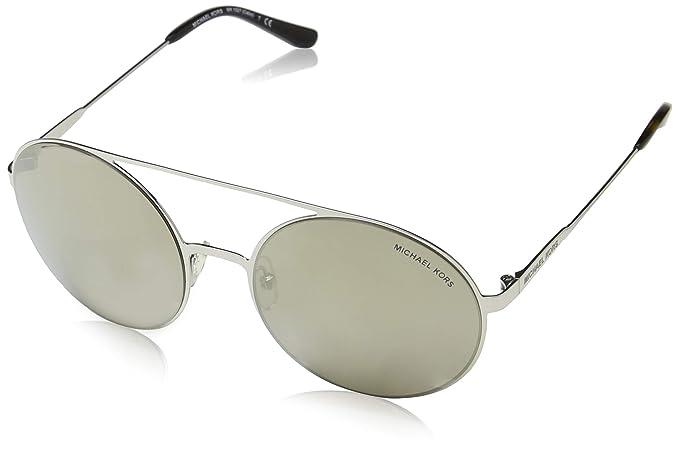 Michael Kors Cabo 10016G 55 Gafas de Sol, Plateado (Silver ...