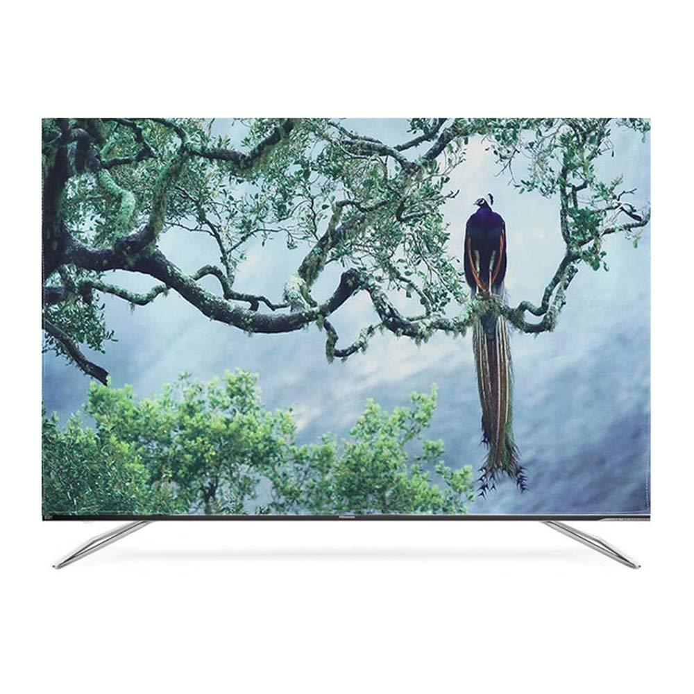 Color : A, Size : 30//32 WSWJJXB Staubabdeckungen TV-Ger/äte H/ängen Tuch Staubschutz