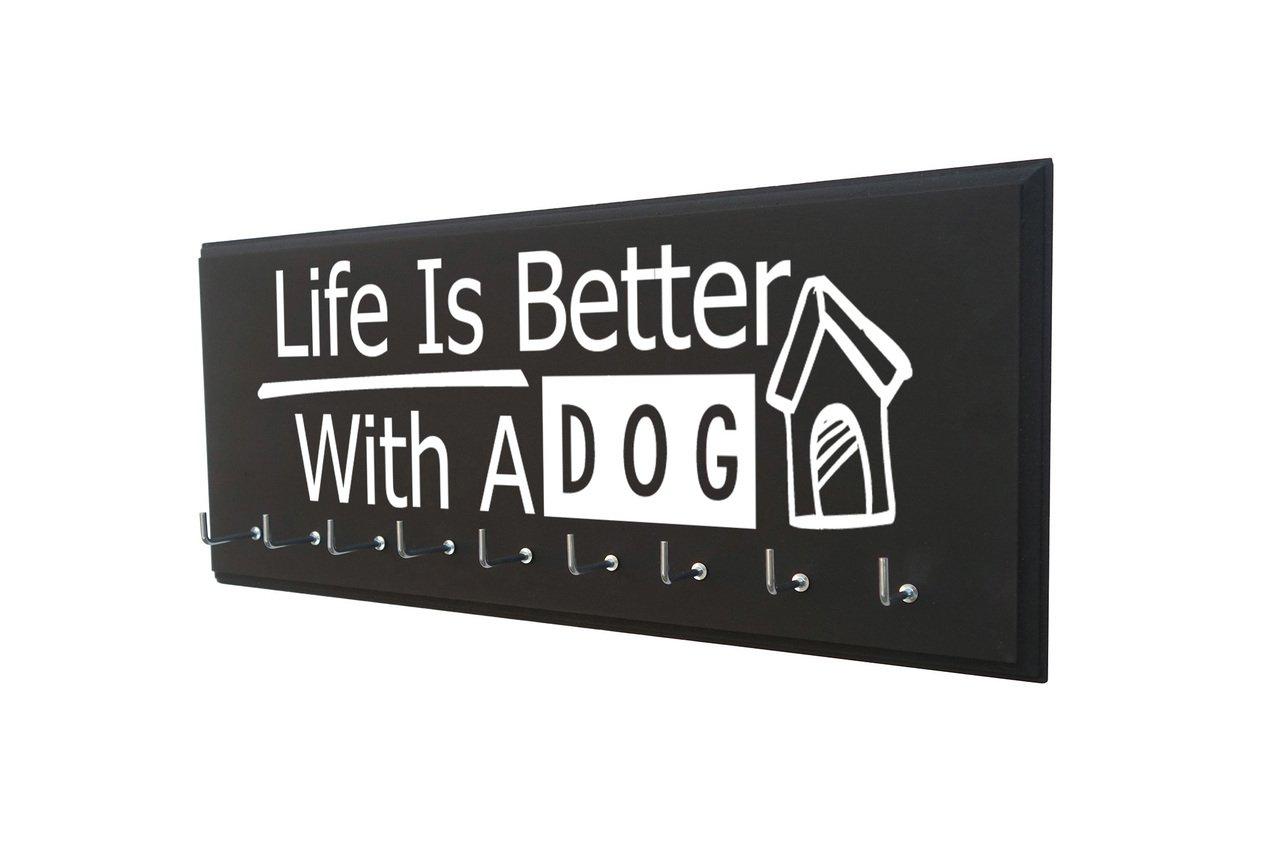 Amazon.com: Perchero de pared para perro, accesorio para ...