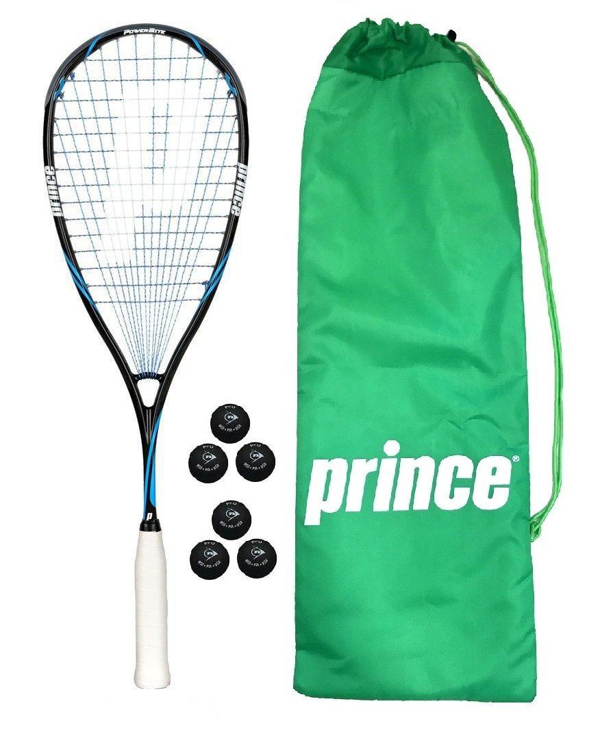 Prince TeXtreme ProShark PowerBite 650 Raqueta De Squash + Dunlop Pro Pelotas De Squash 3, 6 or 12 £169.99 - 3 x Dunlop Pro Balls: Amazon.es: Deportes y ...