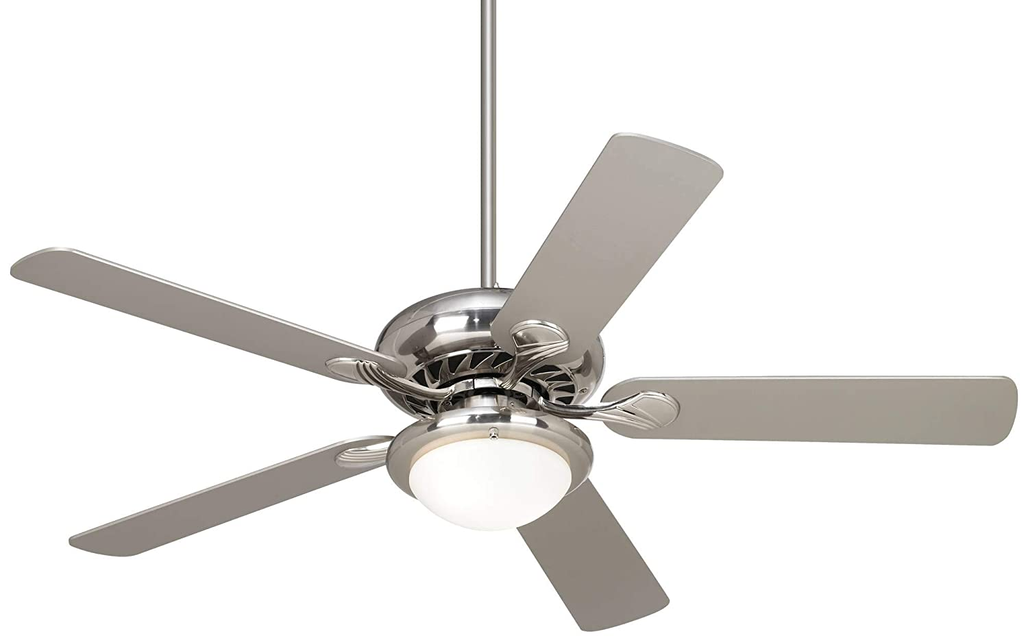 52 Casa Vieja Tempra Brushed Nickel LED Ceiling Fan – Casa Vieja