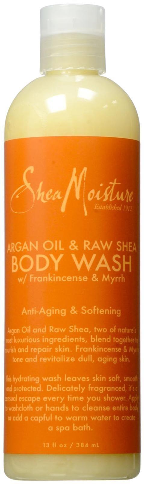 SheaMoisture Argan Oil & Raw Shea Body Wash - 13 oz
