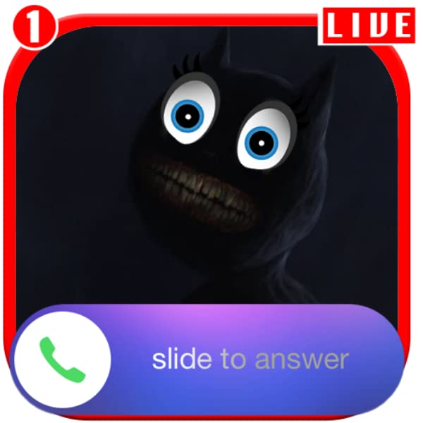Amazon Com A Call From Cartoon Cat Horror Chat And Video Call Prank Appstore For Android