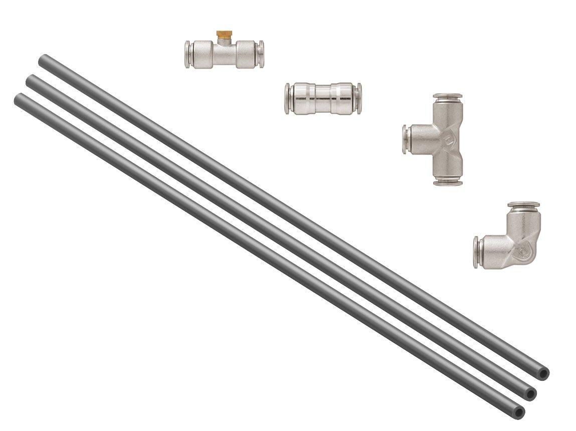 Orbit 3 Pack 12 Foot High Pressure Nylon Flexible Mist System Kit by Orbit